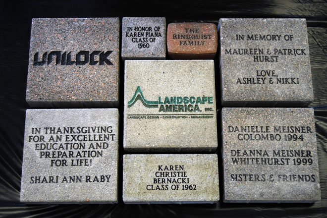 Brick Paver & Memorial Garden Tribute Program
